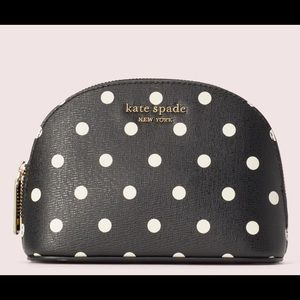 Kate Spade Spencer Dot Small Dome Cosmetic Case